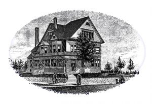 Old Picture of Sander bed and breakfast in helena, mt