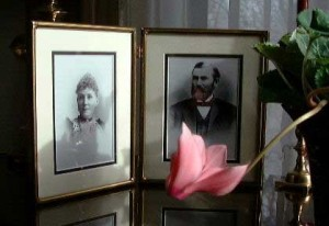 Wilbur and Harriet- Original Owners of what would become The Sanders Helena MT Bed and Breakfast
