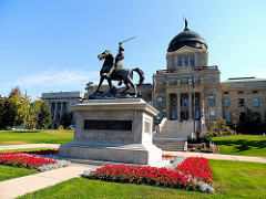 The Montana State Capitol is a easy drive from the Sanders, Helena's Bed and Breakfast. Why stay in a hotel or motel?